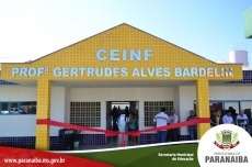 Inaugura��o do CEINF Gertrudes Alves Bardelin